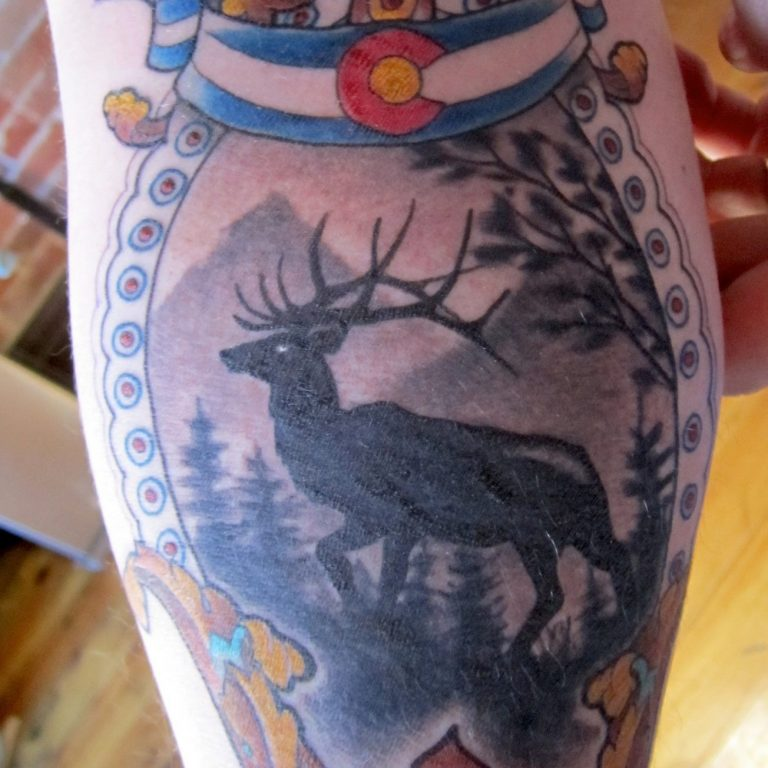 Colorado Tattoo by Matt Rousseau