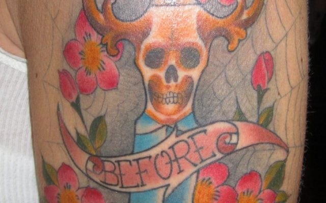 Death Before Dishonor Tattoo by Matt Rousseau